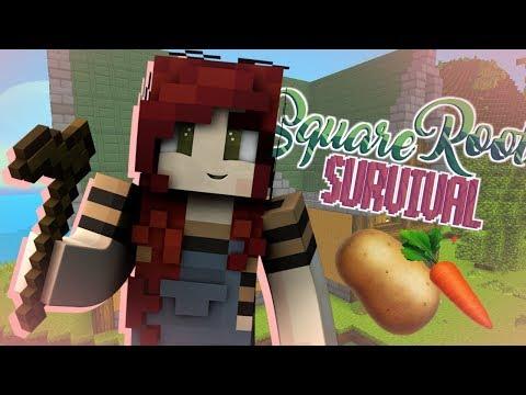 SquareRoot Survival 🥕 #1 - The Friendly Farmhouse