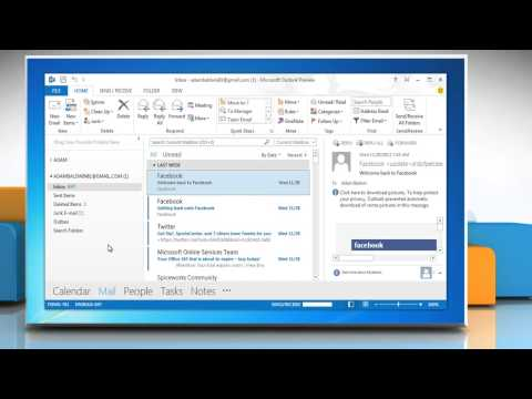 How to create a Business Card from an existing one in Outlook 2013 in Windows® 7