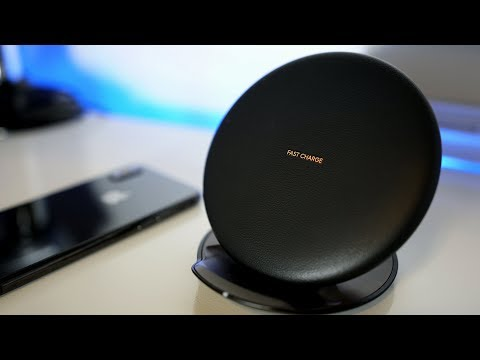Wireless Charger by Samsung for your iPhone X