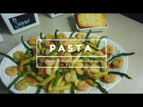 Pasta Al Chile Poblano 😱Rica y super facil!! |KarlaOnofree