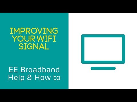 EE Broadband Help & How To: Improving Your WiFi Signal