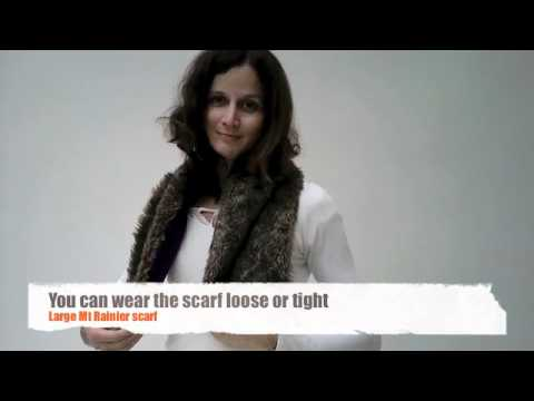 FAUX FUR: How to wear your Faux Fur Scarf?