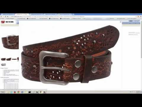 How To Choose A Correct Belt Size On Beltiscool.com - Regular Leather Belt