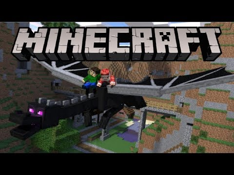 Minecraft PE - How To Spawn/Summon The Ender Dragon!
