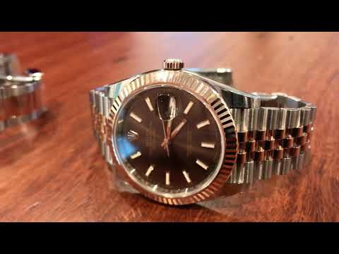Would your brother give you a New Rolex DateJust 41 Rose Gold Two Tone ?