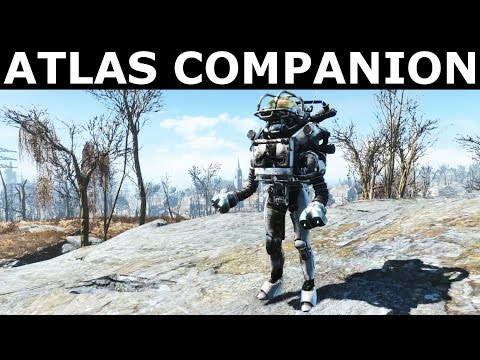 Fallout 4 Automatron - Atlas Robot Companion (Custom Made Automatron Build)