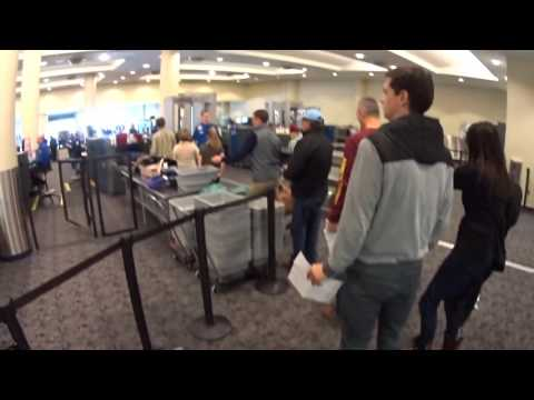 3046 going through TSA security check point