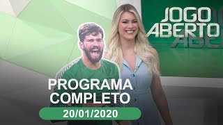 Jogo Aberto - 20/01/2020 - Programa completo