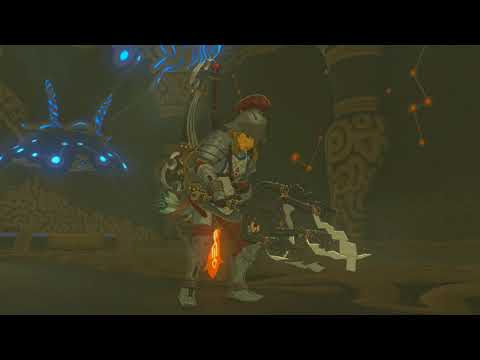 Breath of the Wild DLC start the champions Ballad Trials