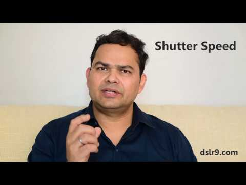 Shutter Speed (Hindi) - What is it & How it Works?