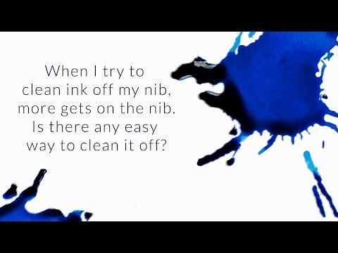 Is There Any Easy Way To Clean Ink Off The Nib? - Q&A Slices