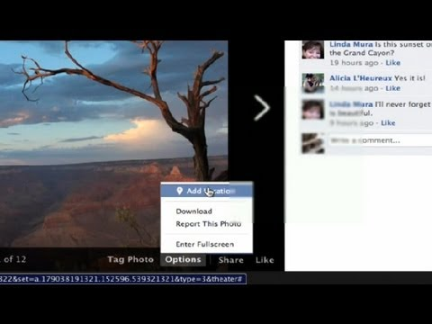 How to Find the Geolocation of a Facebook Photo : Facebook Tips & Tricks