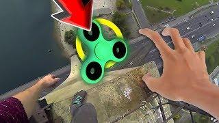 TOP 98 Ultimate Fidget Spinner CHALLENGE Video! (BEST Fidget Spinner Tricks DIY Toy VS Compilation)