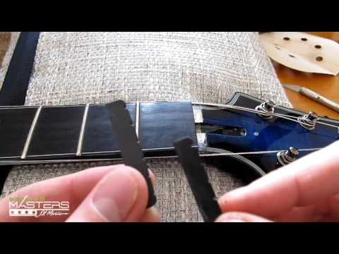 Guitar Nut Replacement Guide: How to Install Black TUSQ Nut