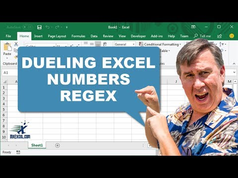 Dueling Excel - Extract Numbers - RegEx - Duel 164