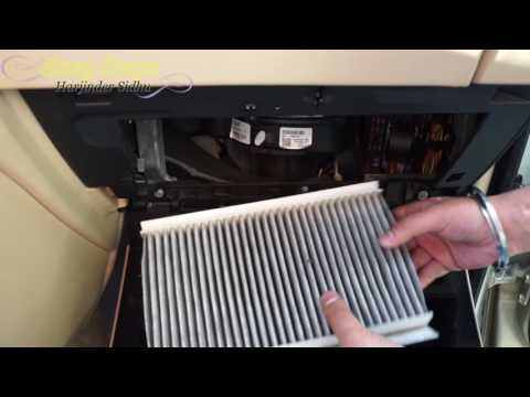 How to Change Interior Cabin Air Filter on Range Rover Sport