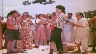 Vikram Singh Full Hindi Dubbed Movie | Chiranjeevi | Radha | Popular Hindi Dubbed Action Movies