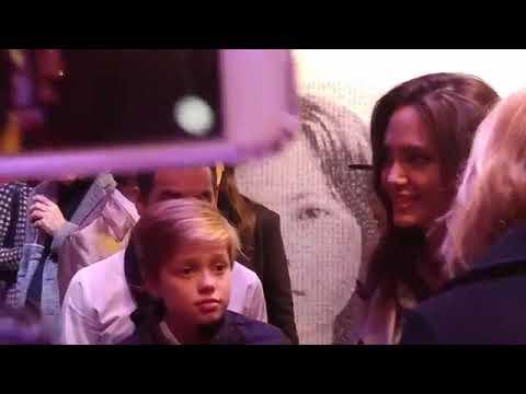 Angelina Jolie & Shiloh Nouvel Jolie-Pitt at Brooklyn Event..