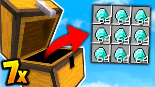 I OPENED 7 LEGENDARY CRATES!! (Minecraft Ice Factions #47)