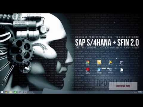 SAP S/4Hana S4Hana with Simple Finance 2.0 Fully Configured and Installed ready to go.