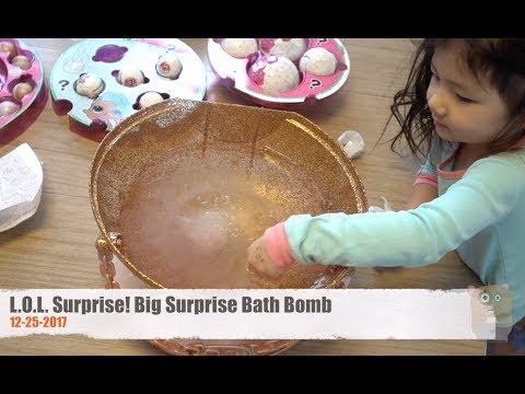 L.O.L. Surprise! Big Surprise Bath Bomb