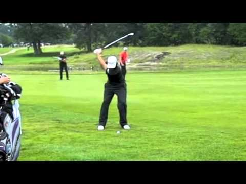 Dustin Johnson Iron Shot