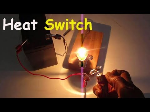 Heat Switch – Tubelight stater bulb works as heat switch