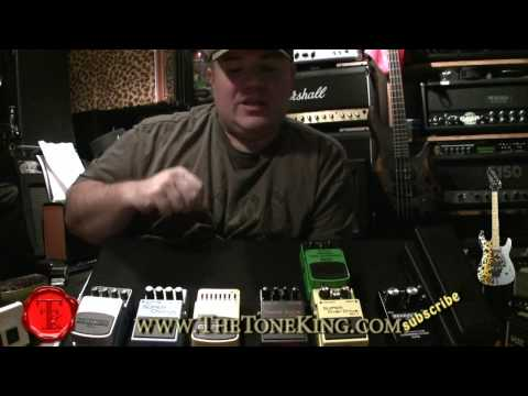 Pedalboard - How to order my guitar pedals & stompboxes!  FX Chain Perfected!