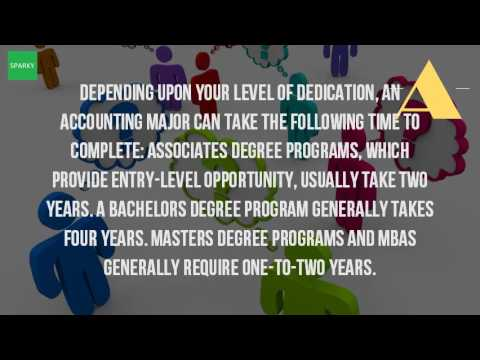 How Long Does It Take To Get A Masters Degree In Accounting?