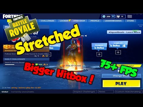 Fortnite | How to create a custom resolution! (Stretched) **Bigger Hitboxes?**