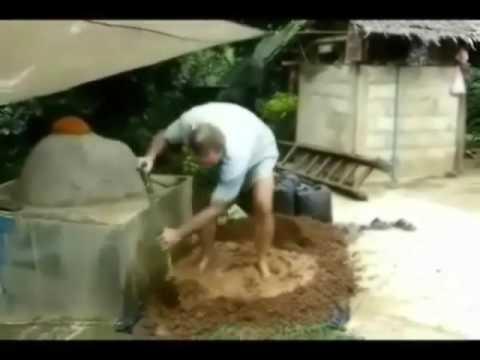 DIY Clay Cement Brick Pizza Oven Build Video Tutorial