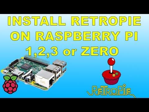 How To Install Retropie And Install Roms On Raspberry Pi 1 , 2 , 3 or zero