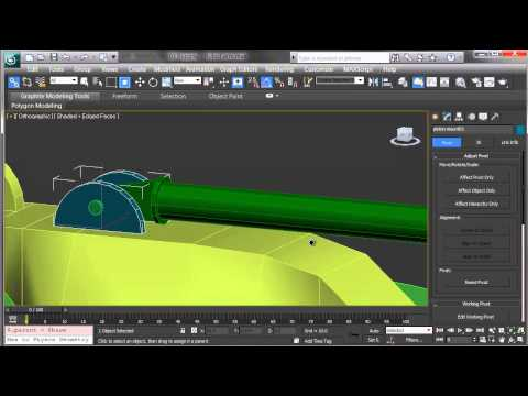 30 Second Animation: Rigging Mechanical Objects in 3ds Max