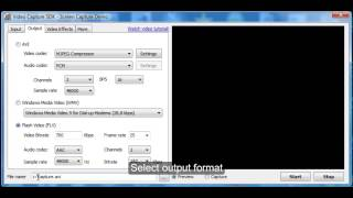 Video Capture SDK / SDK .Net - Screen capture