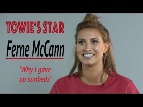 Towie's Ferne McCann 'why i gave up sun beds'