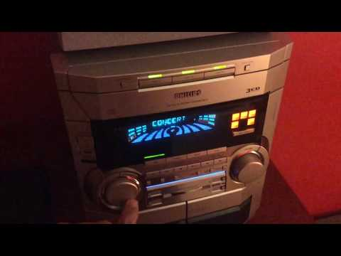 Philips FW-P900/3701 Demo Mode And Operation