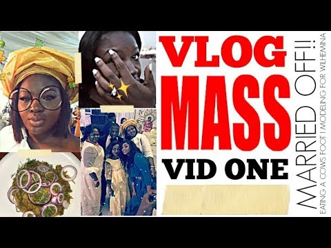 MARRIED OFF IN AFRICA I TRAVEL OUTFITS I EATING COW TROTTERS I VLOGMAS EP 1 I PLUS SIZE FASHION