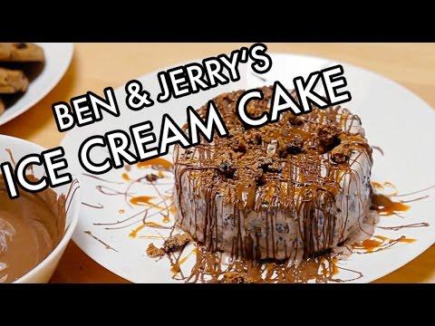BEN & JERRY'S ICE CREAM CAKE