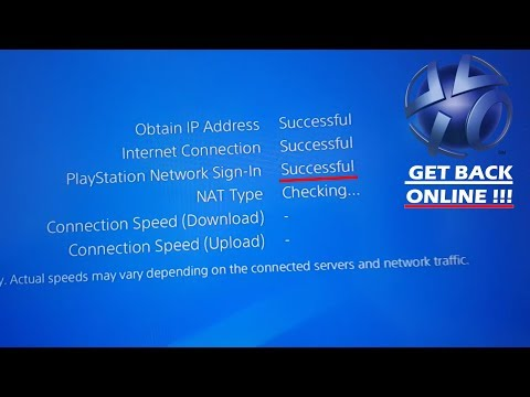 Can't Connect to PSN FIX | Get back Online Solution [Easy/Fast/Working 2018]