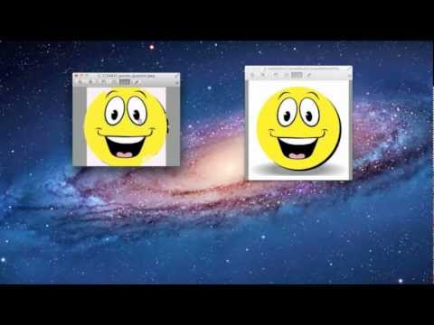How to add a picture into another picture with Preview for Mac