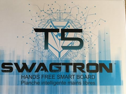 Swagtron T5 Smart Board - Hoverboard for Christmas
