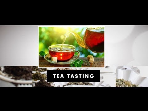 Career As in Tea Taster