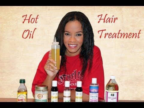 DIY: Hot Oil Hair Treatment