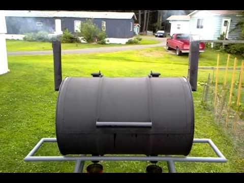 Smoker/BBQ 55 Gallon Drum