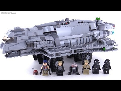 LEGO Star Wars Imperial Assault Carrier review! set 75106