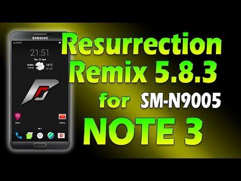 Resurrection Remix Nougat 7.1.2 for Note 3 [ROM RRemix]