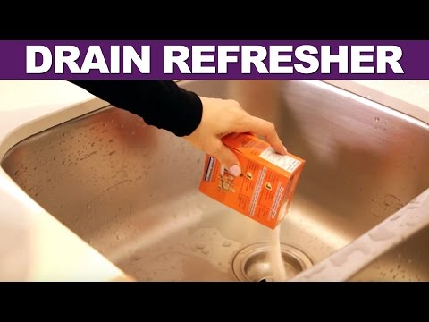 Drain Refresher - Day 26 - 31 Days of DIY Cleaners (Clean My Space)