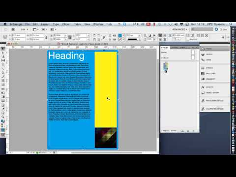 InDesign bleed and margins tutorial