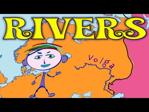Geography Explorer: Rivers - Interesting and Educational Videos for Kids, Learning Game for Children