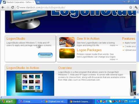 How to Change your logon screen for windows xp